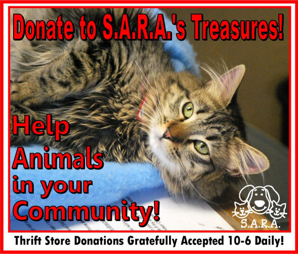 S A R A  THE SHELTER ANIMAL RESOURCE ALLIANCE in Eugene, OR